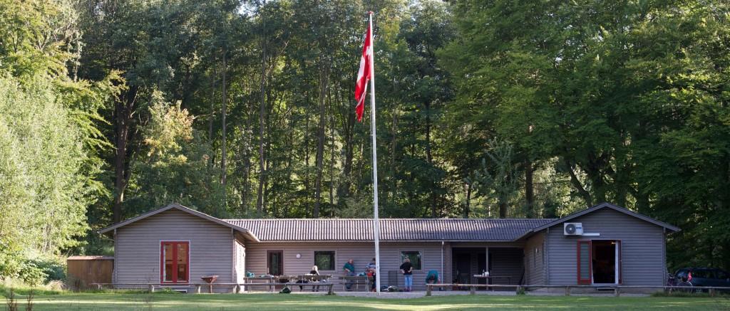 Spejder oprykningslejr i Torn Trines Hus